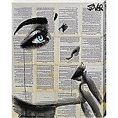 Loui Jover Never Know Again Canvas Print 40x50cm