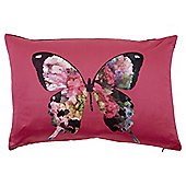 Butterfly Hydrangea Cushion