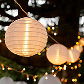 10 Chinese Lantern Connectable LED Fairy Lights