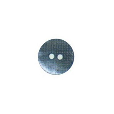 Hemline Two Hole Sky Blue Buttons 17.5mm 4pk