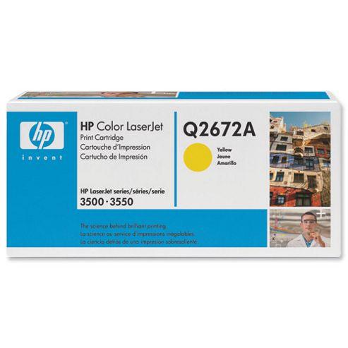 Hewlett-Packard LaserJet Print Cartridge with Smart Printing Technology Yellow