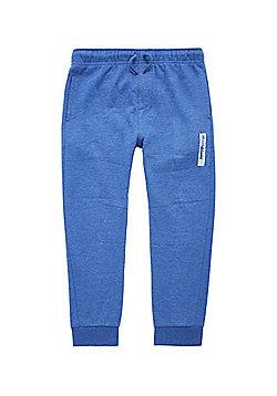 F&F Drawstring Eighty Four Motif Joggers - Bright blue
