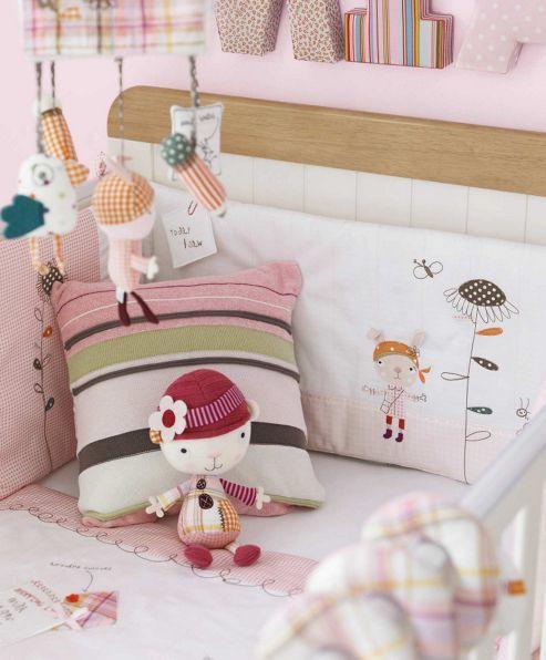 Mamas & Papas - Scrapbook Girls - Cushion