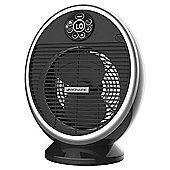 Bionaire BFH004 Digital Fan Heater, 2200W - Black & Silver