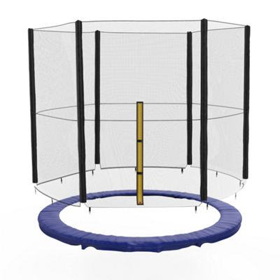 We R Sports 6FT BounceXtreme Replacement Trampoline Safety net & Spring Cover Padding Bundle