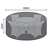 Nova Large 4 Seat Round Dining Set Outdoor Garden Furniture Cover
