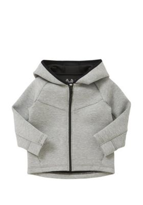 F&F Scuba Zip-Through Hoodie Grey 3-4 years