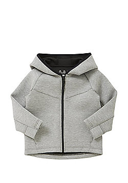 F&F Scuba Zip-Through Hoodie - Grey