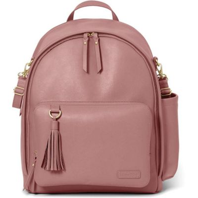 Skip Hop Greenwich Simply Chic Backpack Changing Bag (Dusty Rose)