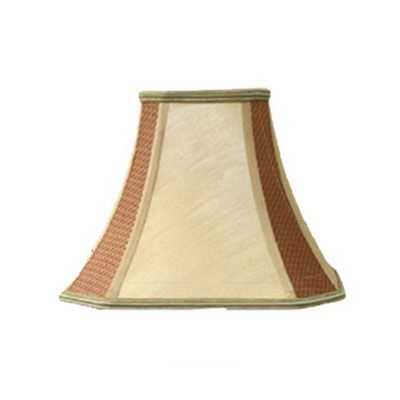 Red And Gold 16 Inch Octagonal Shade