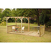 Forest Garden Ultima Pergola Deck Kit 2.4 x 4.8m