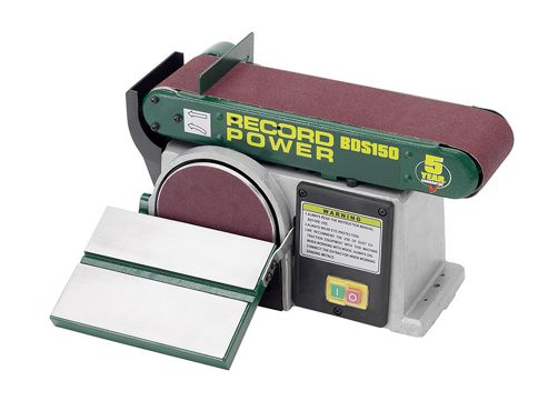 Record Power BDS150 Belt Disc Sander 152mm (6in) x 101mm (4in)