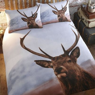 Highland Stag Single Bedding