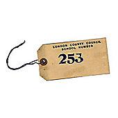 WW2 Replica Evacuation Evacuee Tag - Teaching Aid or Prop