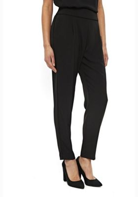 Wallis Tailored Piped Joggers Black 10