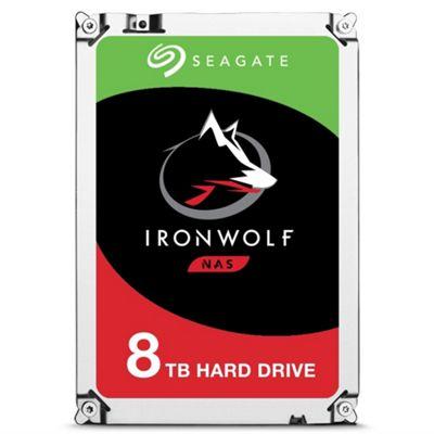 8TB Seagate IronWolf NAS Hard Drive 3.5 SATA III 6GBs 7200RPM 256MB Cache