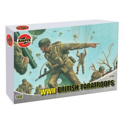 WWII British Paratroops (A01723) 1:72