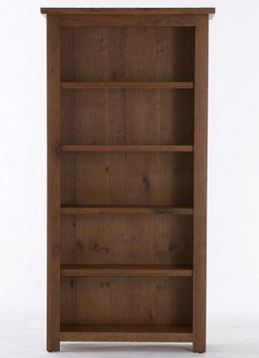 Thorndon Farmhouse Large Bookcase in Old Oak