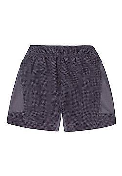 Zakti Kids Train.Work.Run. Shorts - Grey