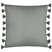 Rocco Royal Grey Cushion Cover - 43x43cm