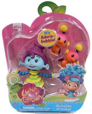 Luna Petunia - Bibi Bubbles & Fuzzlings Mini Figure 2-Pack