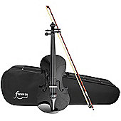 Forenza Uno Series Full Size Black Violin Outfit