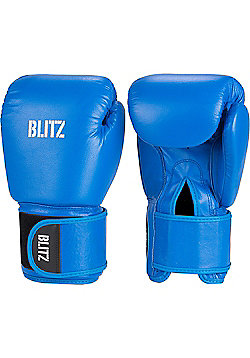 Blitz - Standard Leather Boxing Gloves - Blue