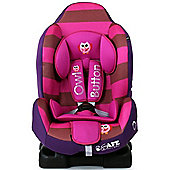 iSafe Group 1 ISOFIX Car Seat (Owl & Button)