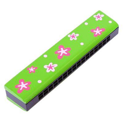 Bigjigs Toys Snazzy Harmonica (Green)