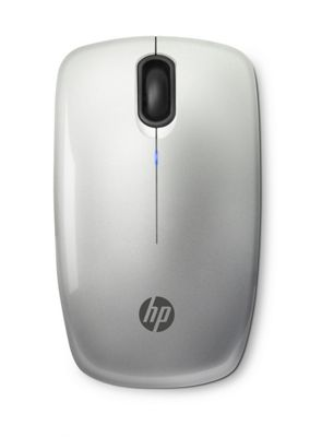 HP Z3200 Silver Wireless Mouse RF Optical 1600DPI Ambidextrous
