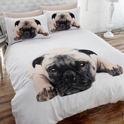 Pug Single Duvet