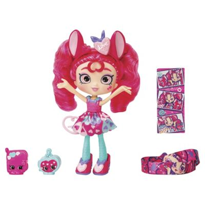 Shopkins Shoppies Themed Dolls - Candy Hearts Mouse