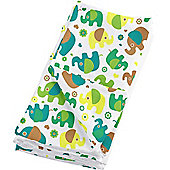 Bambino Mio MioSquares Pack of 4 Muslin Squares (Elephant Parade)