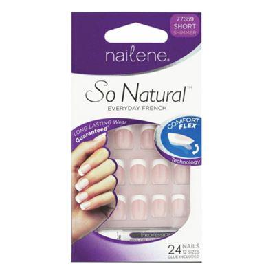 Nailene So Natural Artificial Nails Short 77359