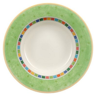Villeroy and Boch Twist Alea Verde Deep Plate 24cm