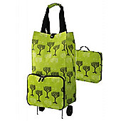 Ulster Weavers Collapsable Space Saving Shopping Trolley Bag in Trees Design