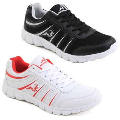 2 X Woodworm Sgs Mens Running Shoes / Trainers Size 9