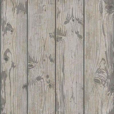 Crown Windward Mid Grey Wallpaper