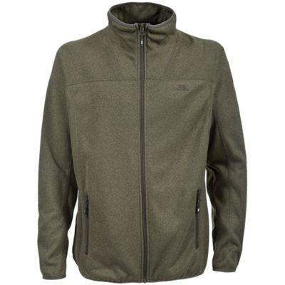 Trespass Mens Russell Fleece Jacket Khaki XL