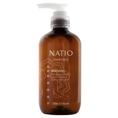 Natio Meditate Hand Wash Khus