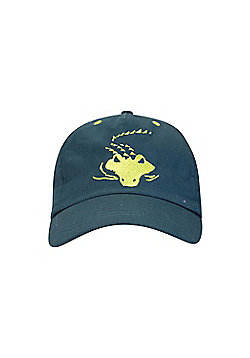 Mountain Warehouse KIDS CROC BASEBALL CAP - Blue