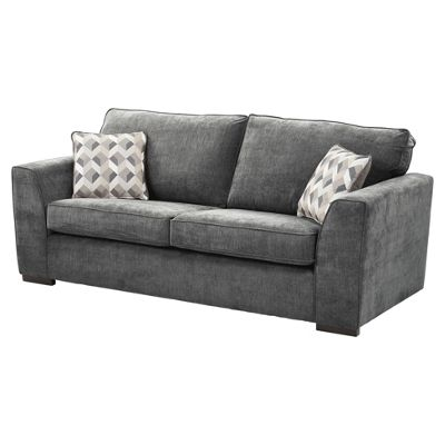boston large 3 seater sofa dark grey - Cheap Couches For Sale Under 100