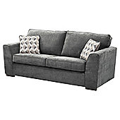 Boston Large 3 Seater Sofa, Dark Grey