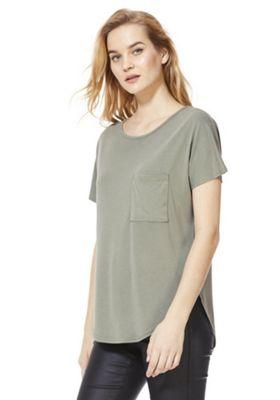 F&F Modal-Blend Supersoft T-Shirt Khaki 16