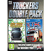 Truckers Double Pack - Euro Truck and UK Truck Simulator - PC