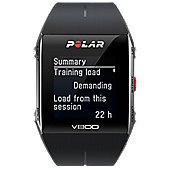 Polar Black V800 Digital Fitness Watch Black/Grey