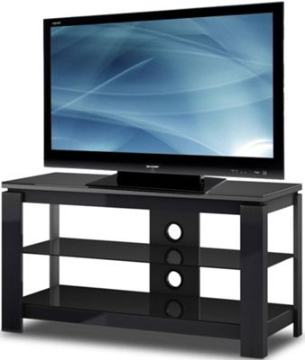 HG Series High Gloss Black TV Stand for TVs up to 50 inch