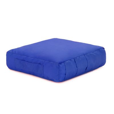 Royal Blue Water Resistant Gardening DIY Kneeling Bean Bag Cushion with Handle and Pockets