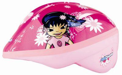 KIDZAMO GIRLS BIKE HELMET JNR SERENA 46/52 PINK