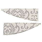 Julian Charles Linden Natural Jacquard Tiebacks (Pair) - 81cm (32)